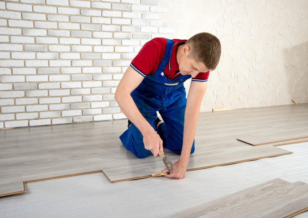 plastic laminate flooring